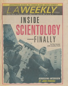 Inside Scientology: The Other Side Of The Looking Glass (April 4-10, 1986)